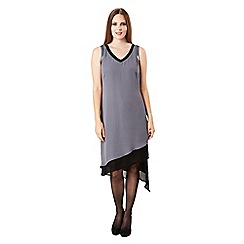 Celuu - Grey 'Tillie' asymmetric hem dress