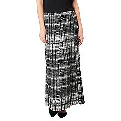 Celuu - Multicoloured 'Lei' pleated maxi skirt