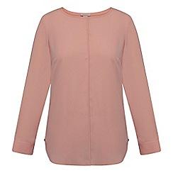 Celuu - Pink 'Tyra' pleat back blouse