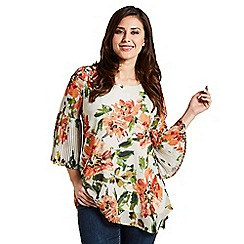 Celuu - Multicoloured 'Sheena' floral blouse