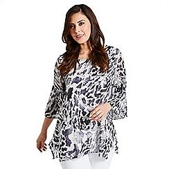 Celuu - Multicoloured 'Sheena' snake print blouse