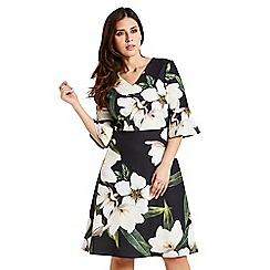 Celuu - Multicoloured 'Blake' striking floral dress
