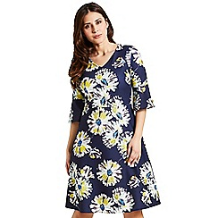 Celuu - Multicoloured 'Blake' daisy floral dress