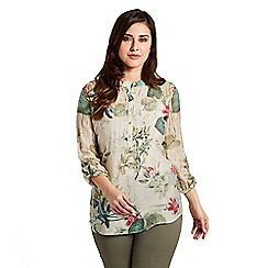 Celuu - Multicoloured 'Isla' tropical blouse