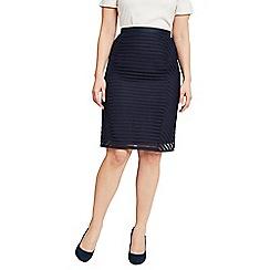Celuu - Navy 'Alia' pencil skirt