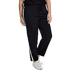 Live Unlimited - Black crepe trouser with stripe