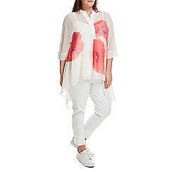 Live Unlimited - Oversized poppy blouse
