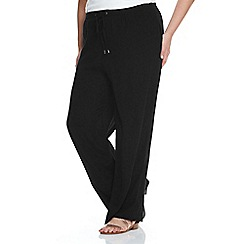 Live Unlimited - Black wide leg trousers