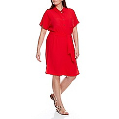 Live Unlimited - Red shirt dress