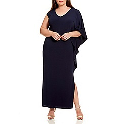 Live Unlimited - Navy jersey maxi dress
