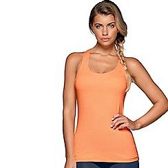 Lorna Jane - Orange 'Go Excel' vest top