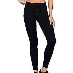 Lorna Jane - Black 'Tone' full length leggings