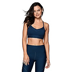 Lorna Jane - Blue 'Avery' sports bra