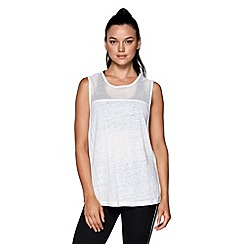Lorna Jane - White 'Harper' tank top