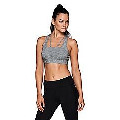 Lorna Jane - Grey 'Alyssah' sports bra