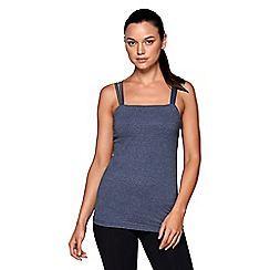 Lorna Jane - Blue 'Alyssah' excel tank top
