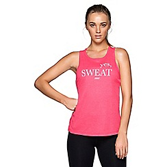 Lorna Jane - Red 'Motivate' active tank top