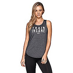 Lorna Jane - Grey 'Training' excel tank top