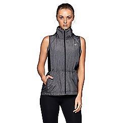 Lorna Jane - Grey 'Cocoon' sleeveless jacket