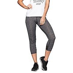 Lorna Jane - Grey 'Motion Core' 7/8 length tights