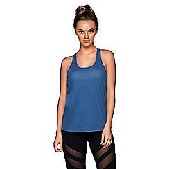 Lorna Jane - Blue 'Tonic' tank top
