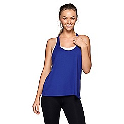 Lorna Jane - Blue 'Shape Up' tank top