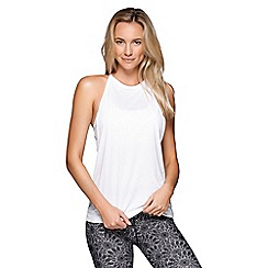 Lorna Jane - White Radiant Active Tank