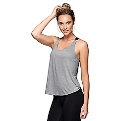 Lorna Jane - Grey Time Trial Tank