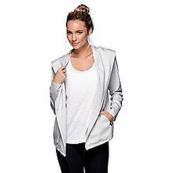 Lorna Jane - Light Grey It's A Wrap! Jacket