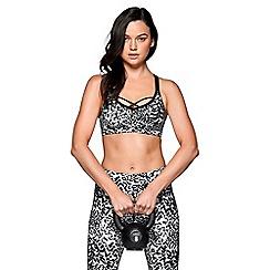 Lorna Jane - Multicoloured 'Jaguar Print' sports bra