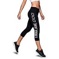 Lorna Jane - Black 'Iconic' core 7/8 length legging
