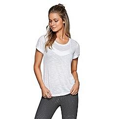 Lorna Jane - White 'The Perfect' t-shirt