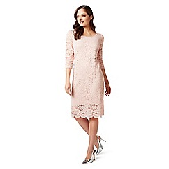 James Lakeland - Pink 3/4 sleeves lace dress