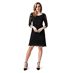 James Lakeland - Black 3/4 sleeves lace dress