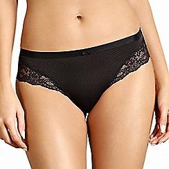 Lisca - Black lace detail Brazilian briefs