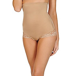 Lisca - Light brown 'Olina' shapewear bodyliner briefs