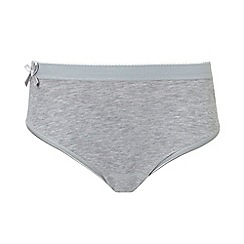 Ten Cate - Pack of two girls' two grey bow briefs