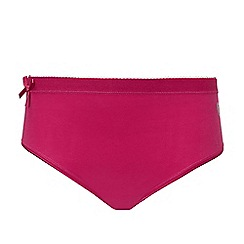 Ten Cate - Pack of two girls' 2 red bow briefs