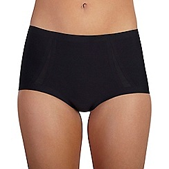 Ten Cate - Black 'Silhouette' maxi brief