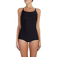 Ten Cate - Black 'Perfect Silhouette' spaghetti strap vest