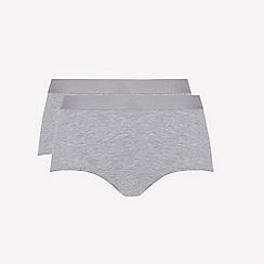 Ten Cate - 2 pack grey 'fine' midi knickers