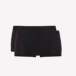 Ten Cate - 2 pack black 'fine' shorts
