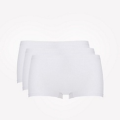 Ten Cate - 3 pack white cotton seamless shorts