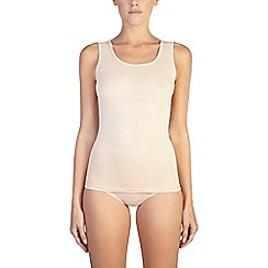 Ten Cate - 2 pack tan cotton seamless vest