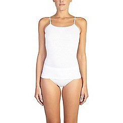 Ten Cate - 2 pack white cotton seamless strappy vest