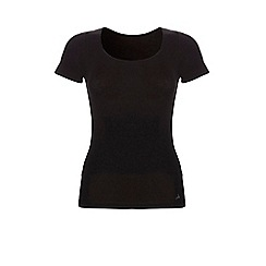 Ten Cate - Black cotton control short sleeve t-shirt