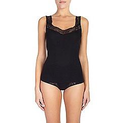 Ten Cate - 2 pack black lace strap vest