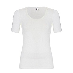 Ten Cate - White short sleeve thermal T-shirt