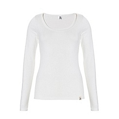 Ten Cate - White basic long sleeve thermal top