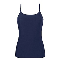Ten Cate - Blue 'secrets' strappy vest